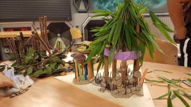 Bamboehuisjes