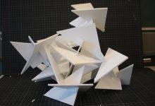 Een 3D-object van Foamboard
